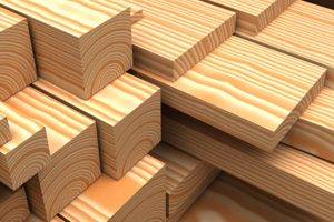 Lumber purchased at Romac Building Supply