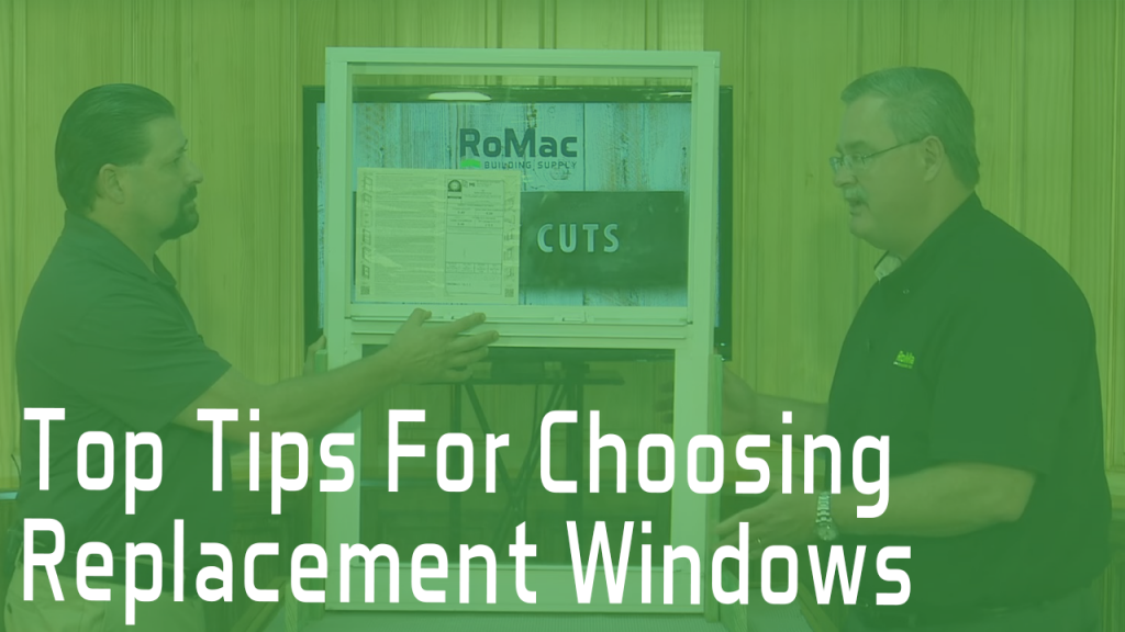 Top Tips for Choosing Replacement Windows