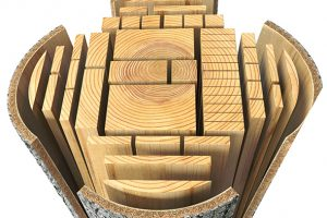 Lumber cut by Romac Building Supply