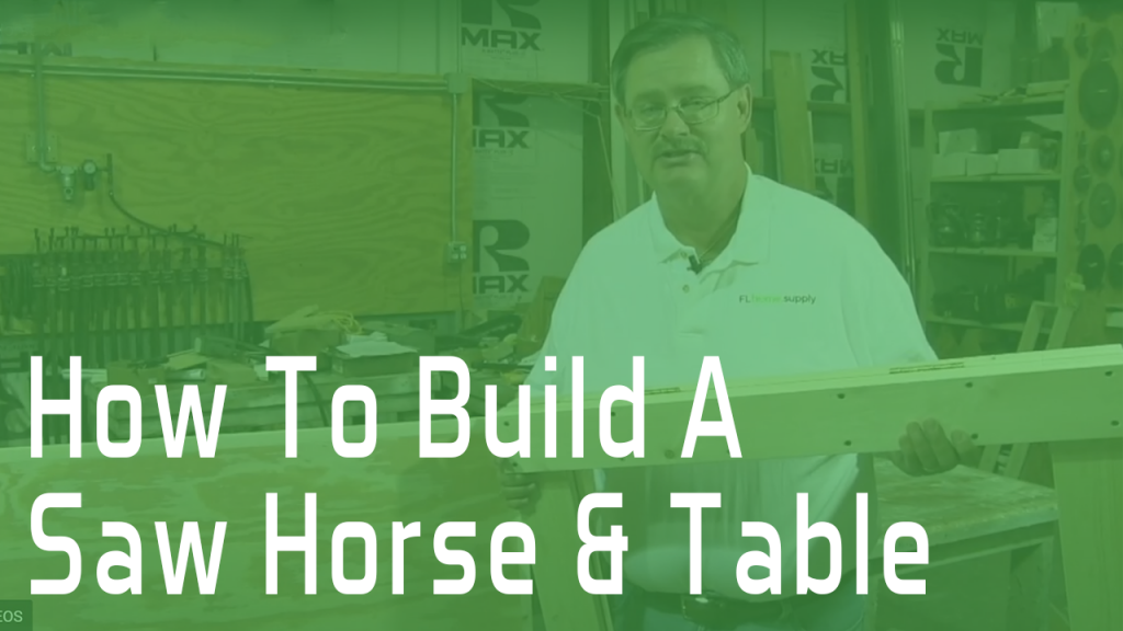 Saw Horse and Table